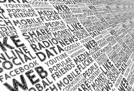 Social Media Wortwolke