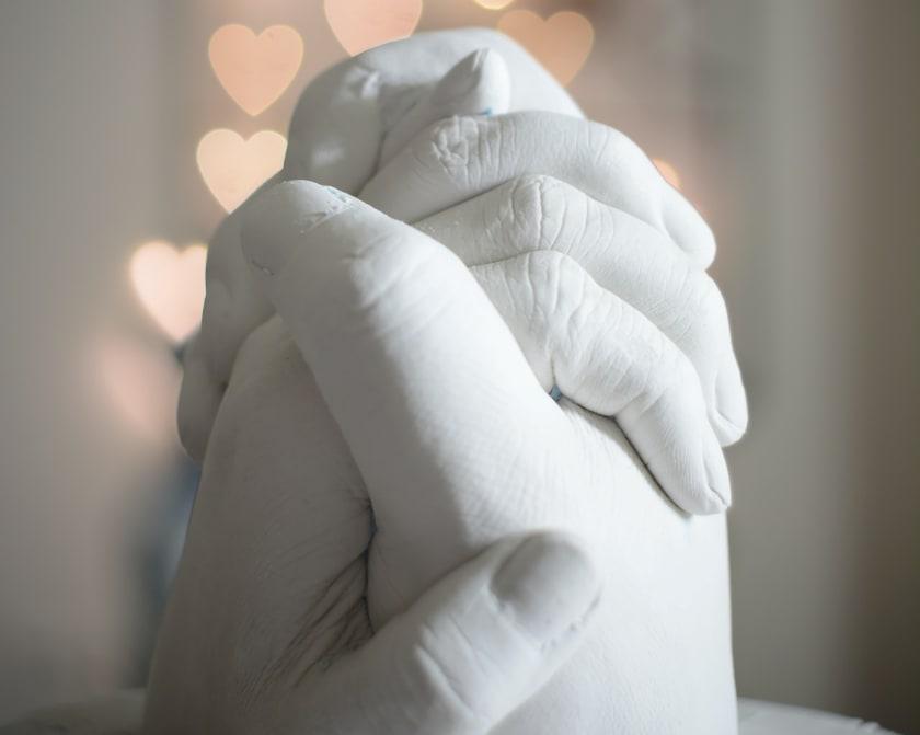 Skulptur Hände