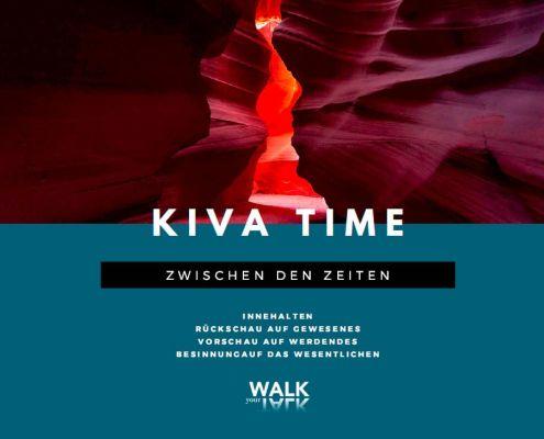 Kiva, Zeit zum Innehalten, Reflexion, Träumen, Besinnung