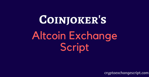 How to create altcoin exchange website with solid secure altcoin exchange script?