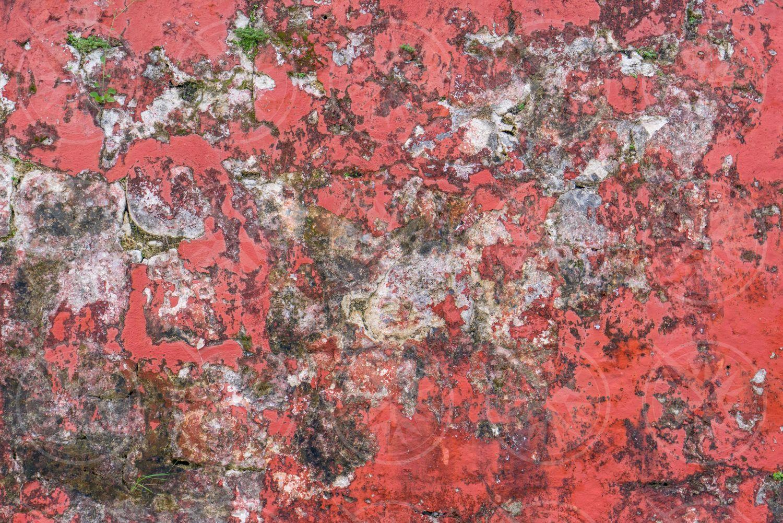 Distressed wall pattern