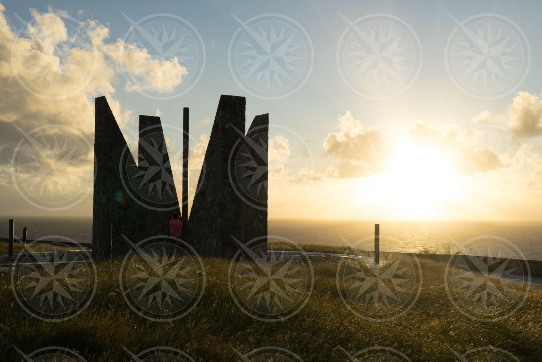 Millennium Monument, Point Udall, St. Croix, USVI