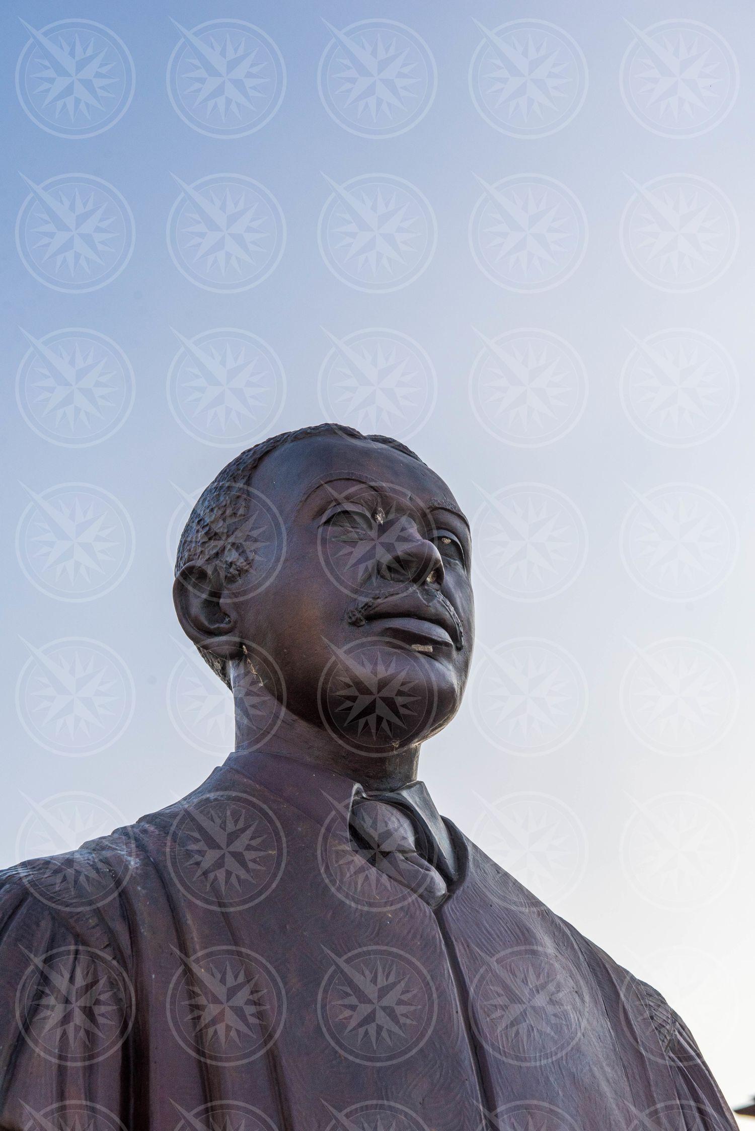 David Hamilton Jackson Statue at Christiansted National Historic Site