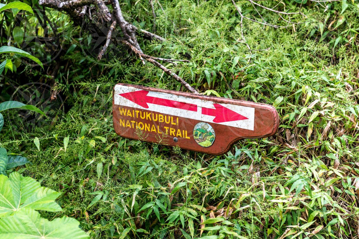 Waitukubuli National Trail sign