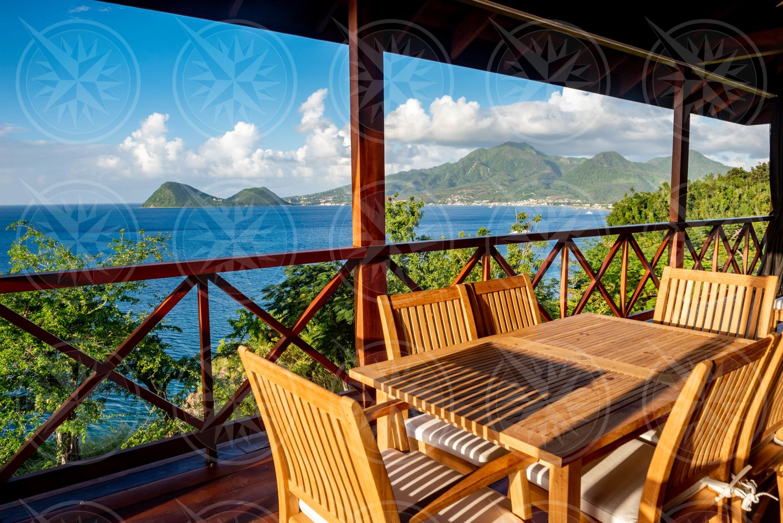 Secret Bay balcony view