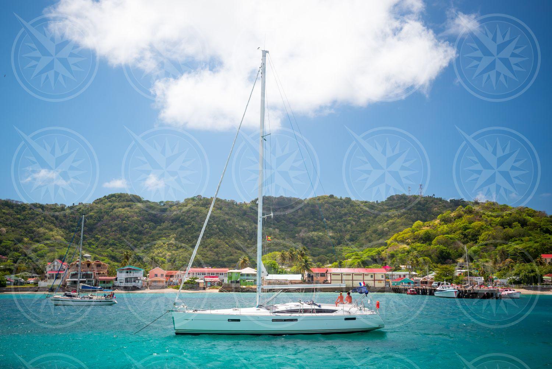 Sailboat in the Grenadines