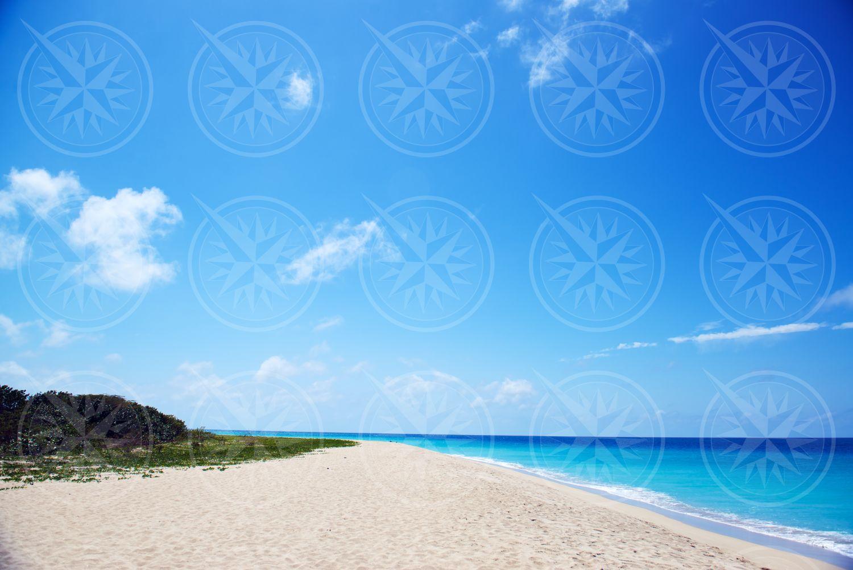 Sandy Point, white sand beach