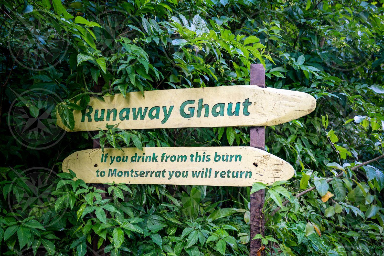 Runaway Ghaut Sign