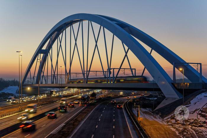 SAAone: Zandhazen brug, infra bijna klaar