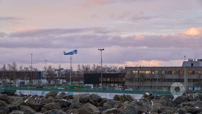 vanaf werkproject viaduct Schiphol