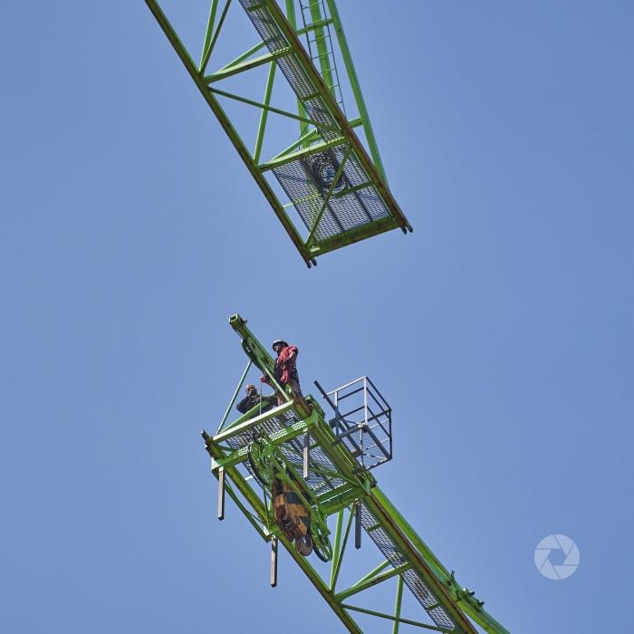 Montage torenkraan 2Amsterdam