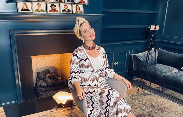 Новое фото беременной Кэти Перри вызвало восхищение поклонников певицы