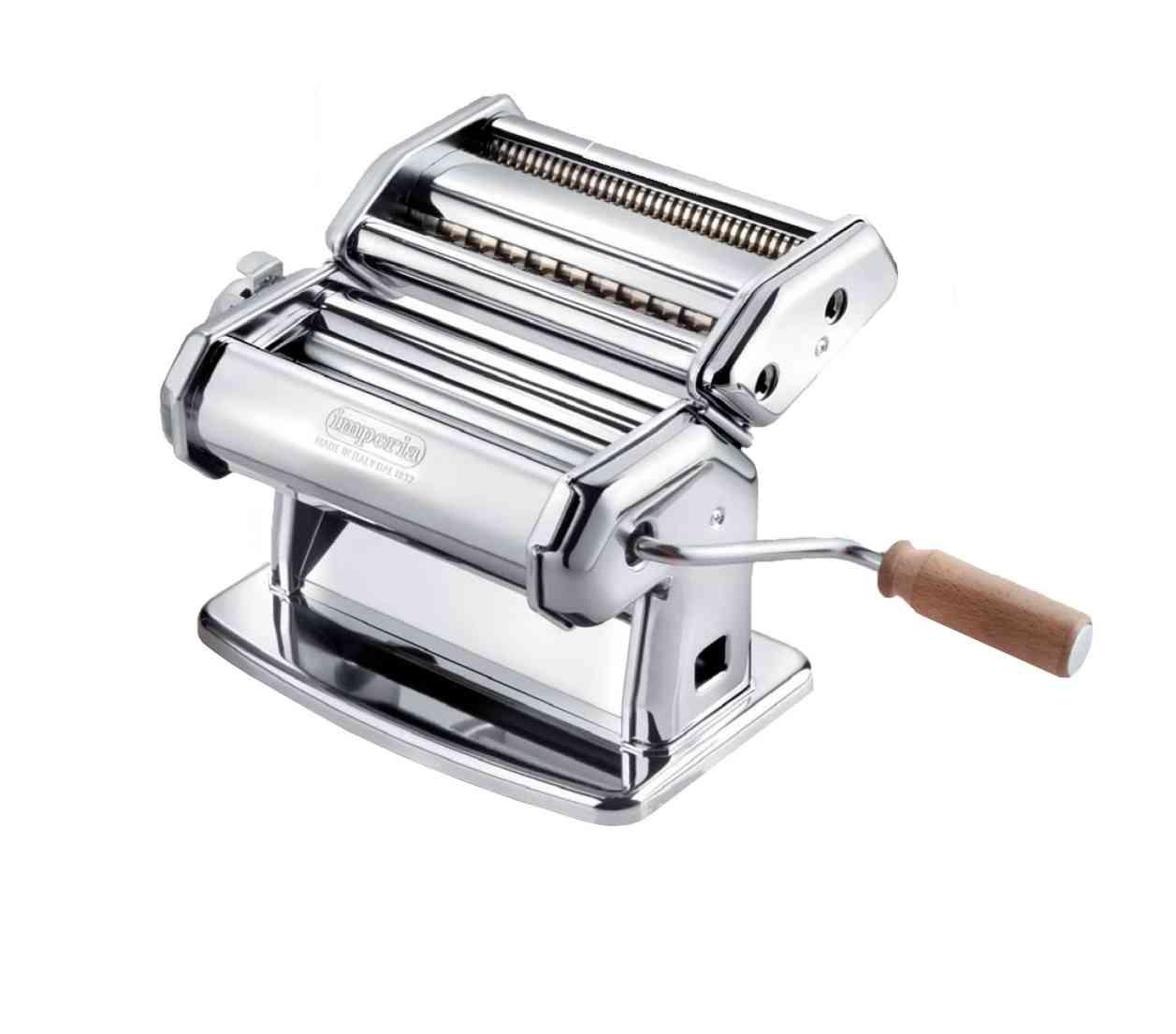 imperia ipasta macchina manuale sfogliatrice tagliatelle fettuccine 100
