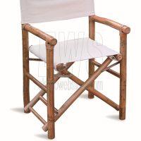 Set da 2 pz. Sedia regista in bambù MOICHB02