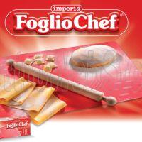 IMPERIA FOGLIOCHEF FOGLIO CHEF PER IMPASTARE silicone con mattarello MOD.590