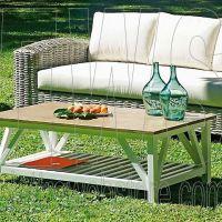 Set Varanasi tavolo + 2 poltrone e divano PES38