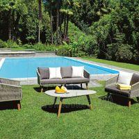 La Spezia tavolo + divano e 2 sedie SET106