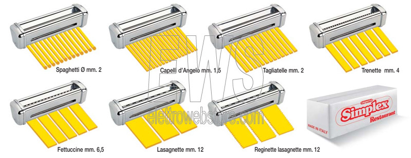 IMPERIA trafile tagli simplex per macchine della pasta