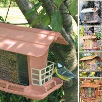 Marchioro mangiatoia rifugio uccelli in libertà JOK 2 34x26x23