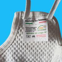 Mascherine medicali lavabili e riutilizzabili professionali 10 pezzi