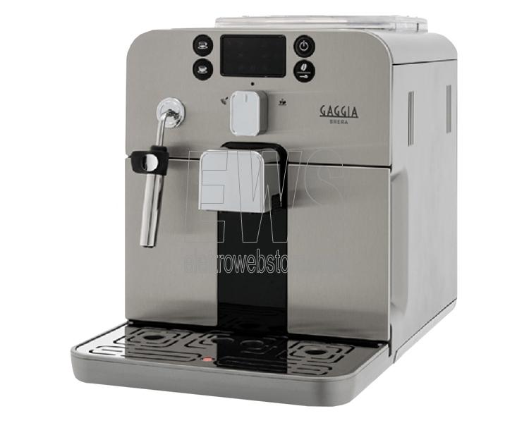 GAGGIA Brera silver macchina caffè automatica RI9305-01