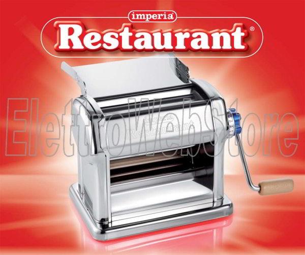 IMPERIA Restaurant macchina sfogliatrice pasta manuale professionale 010