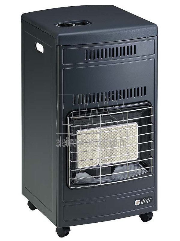 Sicar stufa infrarossi GPL EURO90 grigia 4200 W