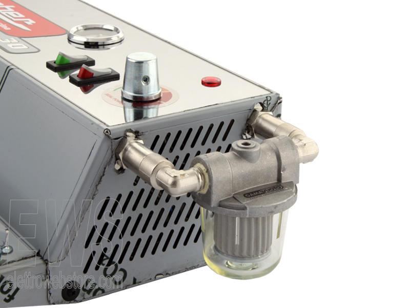 REBER Professional 30 macchina sottovuoto con filtro antiliquidi 9709NF