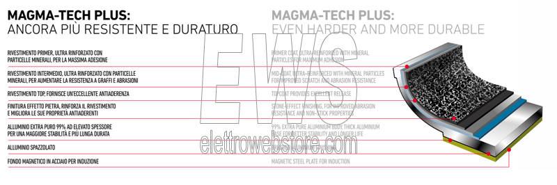 Magma-Tech Flonal Pura induzione induction