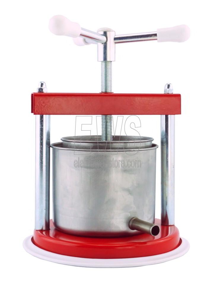 TORCHIETTO MEDIO premitutto in acciaio 2 litri CDF1048