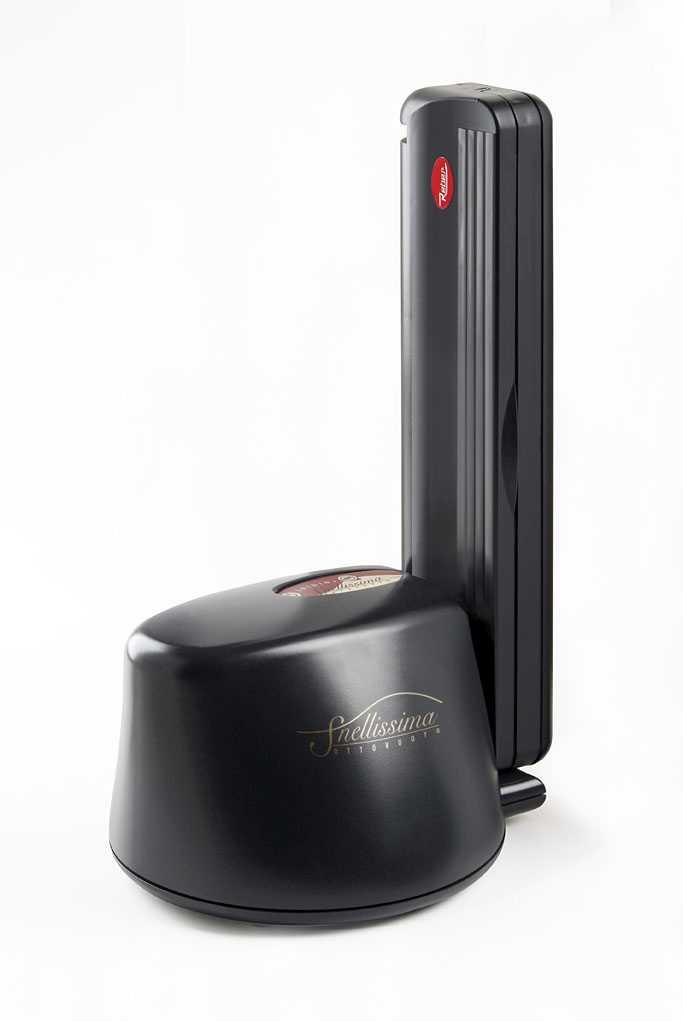 REBER SNELLISSIMA nera macchina sottovuoto automatica 9360N