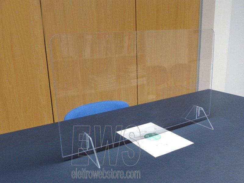 Paratia barriera protezione anticontagio plexiglass