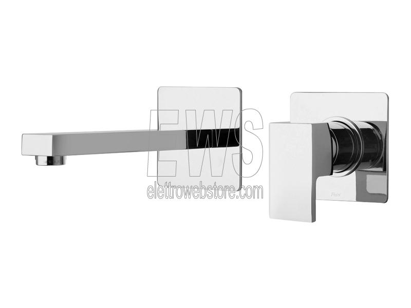 Paini Dax miscelatore rubinetto lavabo a muro 84CR208RQ