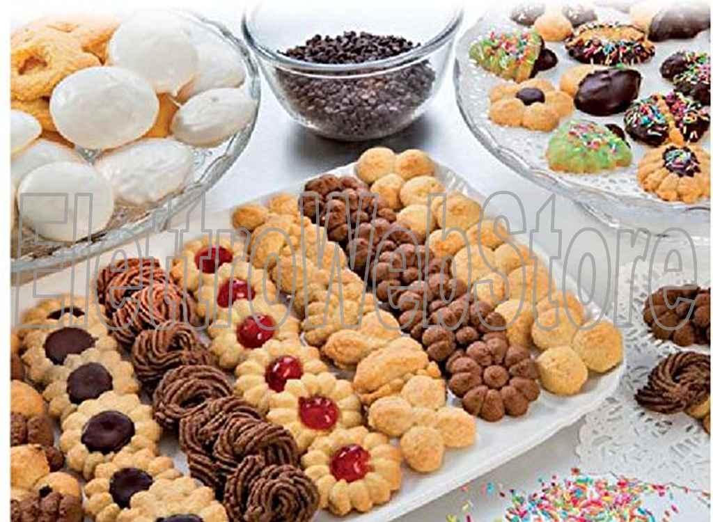 IMPERIA Cookies Sparabiscotti in alluminio 580