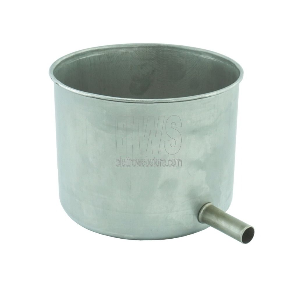 Torchietto piccolo premitutto per alimenti acciaio CDF1047 1,5 litri