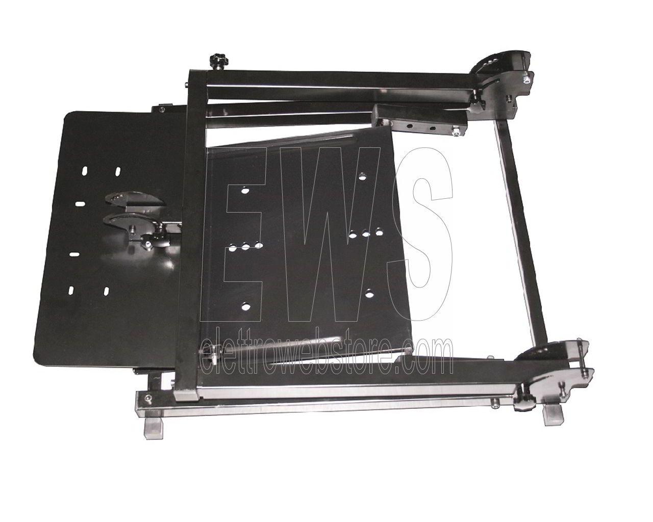 XTREME stand metallo supporto volante pedaliera 90457 game cockpit foldable jarama