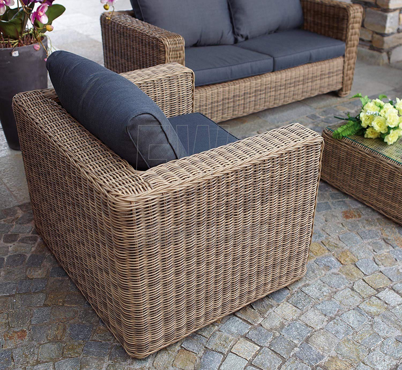 Set Trinidad tavolo + 2 poltrone e divano SET62