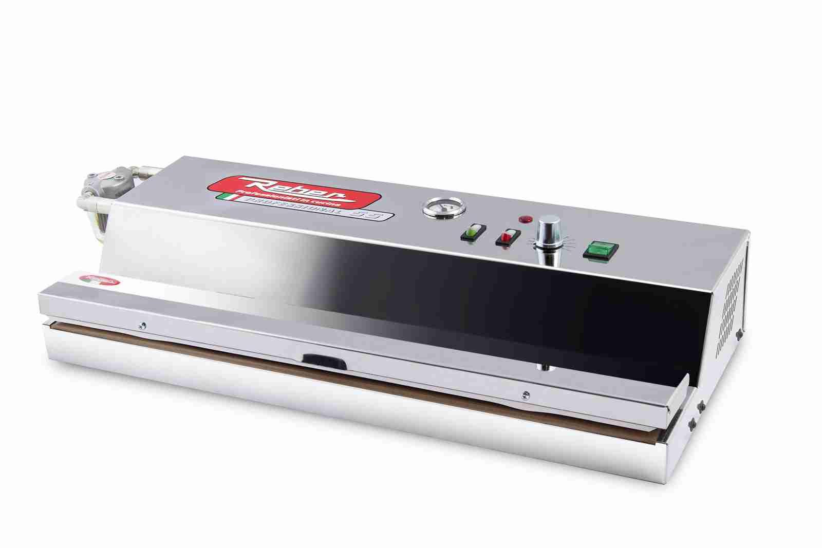 REBER Professional 55 macchina sottovuoto inox filtro protezione liquidi 9712NF