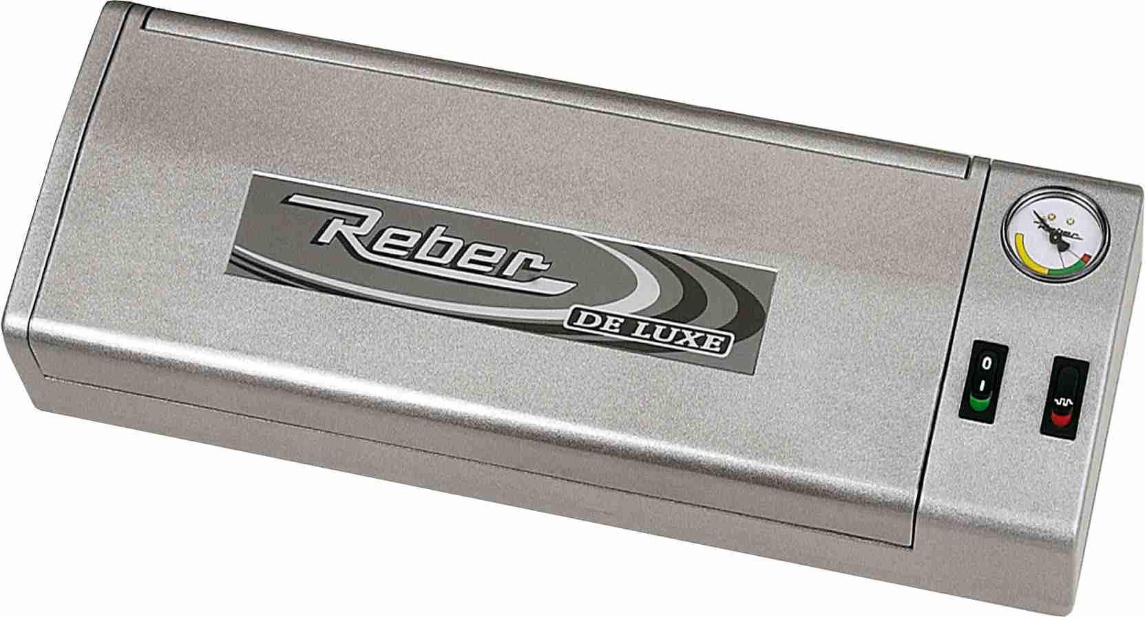 REBER FAMILY DE LUXE macchina sottovuoto grigia 9701N