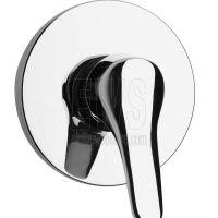 Miscelatore da incasso doccia cromato Paini Pilot 04CR690P1