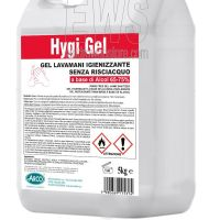 Gel igienizzante lavamani HigyGel 5 kg a base di alcol