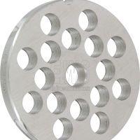 REBER piastra in acciaio tipo INOX per tritacarne elettrico n. 12 REB4352A
