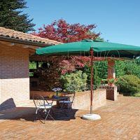 ombrellone rettangolare metri 3x4 verde