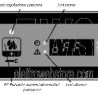 Qlima Stufa A Pellet TECTRO TBH 146 Slim 4620 Watt