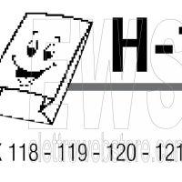Confezione da 10 sacchi in carta Vorwerk Folletto VK 118-119-120-121-122 TSIH11