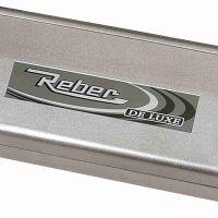 REBER FAMILY DE LUXE macchina sottovuoto automatica satinata grigia 9701N
