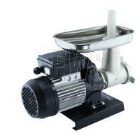 Reber tritacarne elettrico 22 collo corto da 600 Watt motore potenza HP 0.80 corpo in ghisa stagnata 9500NC