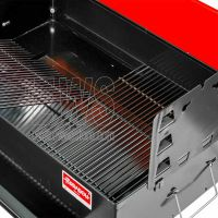 Ferraboli Comunità barbecue a carbonella 128 con ruote nuovo modello 2021