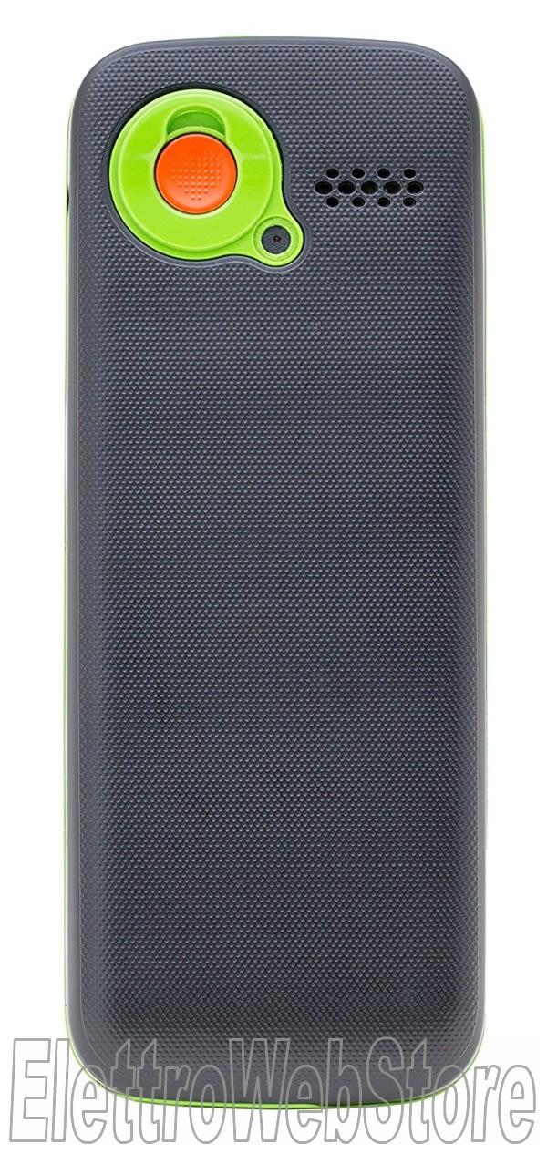 CUSTOM TEO telefono cellulare dual SIM tasti grandi per anziani