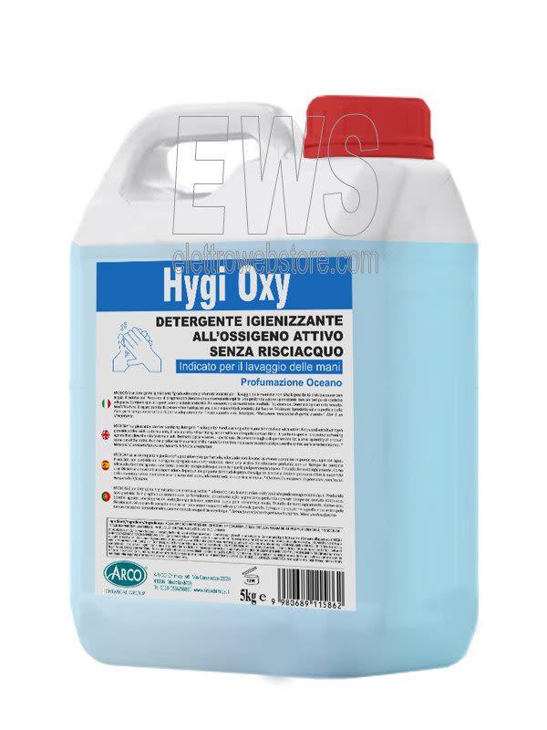 Gel igienizzante lavamani Higy Oxy 5 kgl al perossido di idrogeno